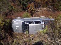 Una familia volcó en Ruta 40: resultaron ilesos