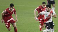 River igualó con Huracán 1 a 1 por la Liga Profesional