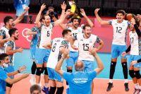 Argentina en semifinales de vóley de los Juegos Olímpicos: cuándo juega y con quién