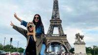 Zaira Nara viajó a París para reencontrarse con Wanda pero no todo salió como lo planeó