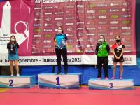 Tres podios más para la delegación de tenis de mesa