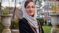 Zarifa Ghafari asumió a los 26 años la alcaidía de Maidan Shahr