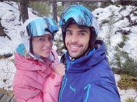Manu Urcera viajó al sur con Nicole Neumann y otra vez se cruzaron con su ex