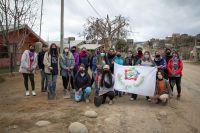 Jóvenes por Bariloche realizó plantaciones y tareas de limpieza en el Nahuel Hue