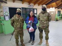Más de 250 integrantes de la Escuela Militar de Montaña garantizaron el acto eleccionario