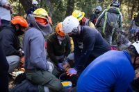 Cayó un alud en un campamento junto al SPLIF… ¿o no?