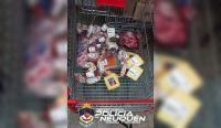 Fue detenido por robar 14 mil pesos en salamines y quesos de un supermercado