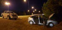 Violento accidente en el cruce de Circunvalación y el acceso al aeropuerto