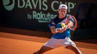 """Copa Davis: El """"Peque"""" Schwartzman ganó su punto y la serie quedó para Argentina"""