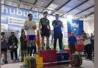 El barilochense Dante Pizzuti logró un nuevo récord argentino en levantamiento de pesas