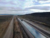 Ruta Nacional 23: Con el fin de la veda invernal retoman la obra
