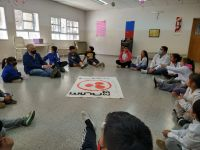 En la escuela de Pichi Leufu se trabajó en el significado de la Paz