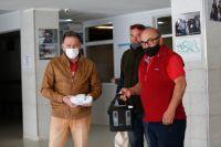 Donaron el concentrador de oxígeno de su amigo al Hospital Zonal Bariloche