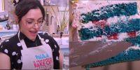 Receta de Bake Off: La torta blue velvet que el jurado elogió