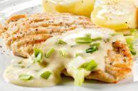 Receta para el sábado a la noche: Pollo al verdeo con crema súper liviana