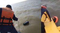 Atraparon a ex músico de Los Fabulosos Cadillacs y otro náufrago en el río con 37 kilos de cocaína