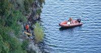 El conductor del auto que cayó al lago estaba alcoholizado