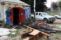 Un depósito de Parques Nacionales sufrió daños tras un incendio
