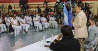 En Bariloche Arabela participó del acto de colasion de 58 egresados del IPAP