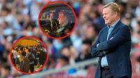El efecto post Messi: Ronald Koeman fue agredido a la salida del Camp Nou
