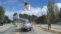Cambios en el semáforo del Km 8,500 de Pioneros