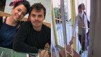 Una fanática y acosadora de Benjamín Rojas destrozó el local de la pareja del actor