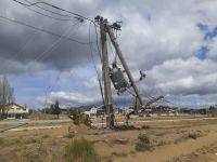 El temporal de viento le costará más de 4 millones de pesos a la CEB