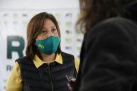 Arabela Carreras confirmó que quiere ser gobernadora por cuatro años más