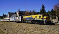 El Tren Patagónico llegó a Bariloche con donaciones para los damnificados por los incendios