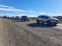 Ruta a Neuquén cortada en Piedra del Aguila