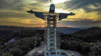 Brasil construye un nuevo monumento a Jesús: será más alto que el Cristo Redentor
