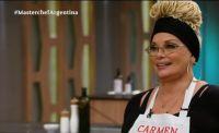 Así fue el debut de Carmen Barbieri en Masterchef