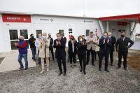 Carreras inauguró el Hospital Modular junto al Ministro de Obras Publicas