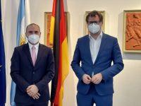 Guzmán se reunió con el secretario del Ministerio Federal de Finanzas de Alemania