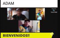 Barilochenses de Actividad Deportiva Adaptada Municipal participaron de un entrenamiento virtual