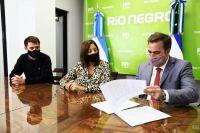 Carreras y Pogliano firmaron la aplicación de la Ley Pierri