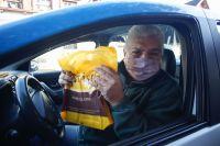 Los taxistas celebraron su día con mucha alegría
