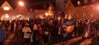 Hinchas de Boca festejaron en el Centro Cívico