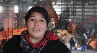 Gladys Pichiñanco y el sueño de recibir residuos clasificados para cambiar la calidad del trabajo