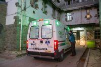 Una nena fue atropellada por su padre y tuvo que ser trasladada en ambulancia