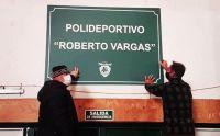 """El gimnasio de Pehuenes llevará el nombre de """"Roberto Vargas"""""""