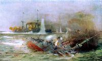 El mar argentino, escenario de la Primera Guerra Mundial