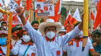 Terminó el escrutinio en Perú y ganó el sindicalista de izquierda Pedro Castillo