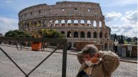 Italia analiza eliminar el uso obligatorio de barbijo al aire libre el 15 de julio