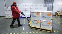 Hoy llegan al país 1.134.000 dosis de la vacuna AstraZeneca