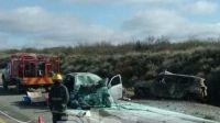 Choque fatal en la Ruta 22: Cuatro fallecidos y un herido de gravedad