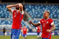 Filtraron las polémicas fotos de la fiesta sexual de los jugadores chilenos