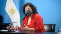"""La Ministra Vizzoti aseguró que """"ninguna dosis de ninguna vacuna vence"""""""