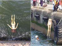 Megaoperativo de rescate por un cuerpo flotando: ¡Y era una muñeca inflable!