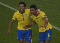 Brasil derrotó 2 - 1 a Colombia y se clasificó a cuartos con puntaje perfecto